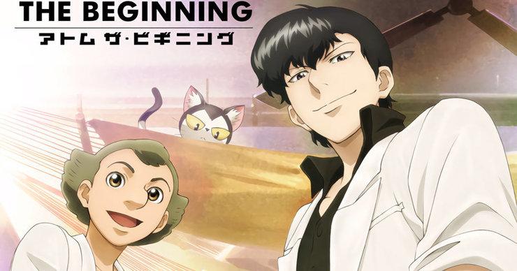 Постеры аниме «Атом: Начало»