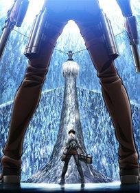 Промо-арт аниме «Атака на Титана 3»
