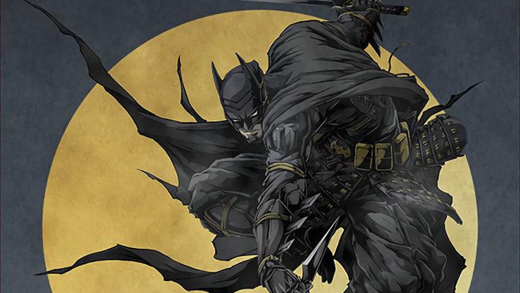 Постеры аниме «Бэтмен Ниндзя»
