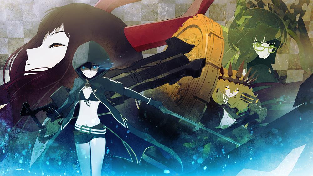 необычные аниме картинки:
