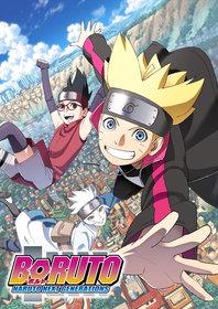 Постеры аниме «Боруто: Новое поколение Наруто»