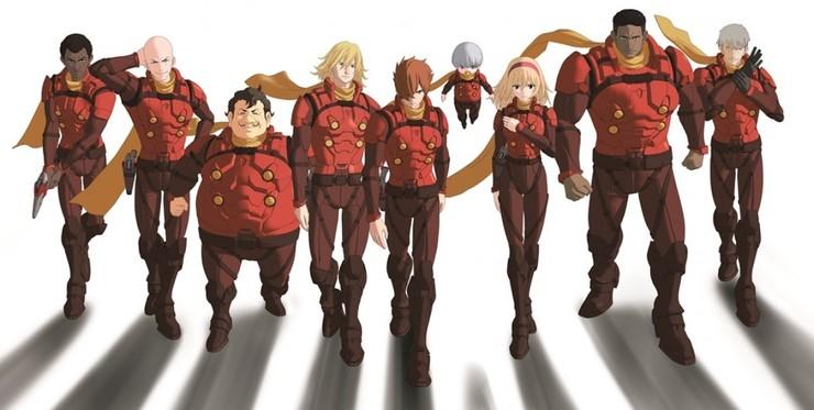 Постеры аниме «Киборг 009: Зов справедливости»
