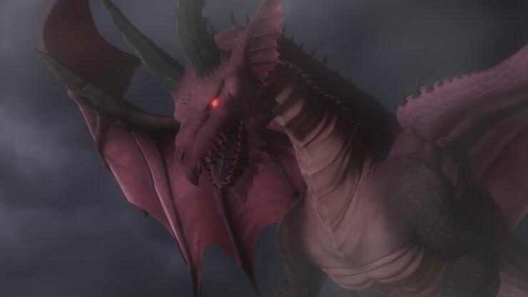 Кадры из аниме «Догма дракона»