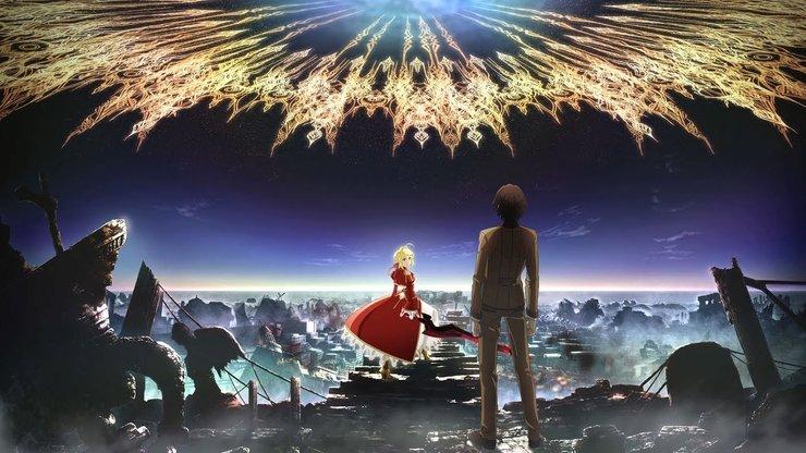 Промо-арт аниме «Судьба: Экстра Последний Бис»