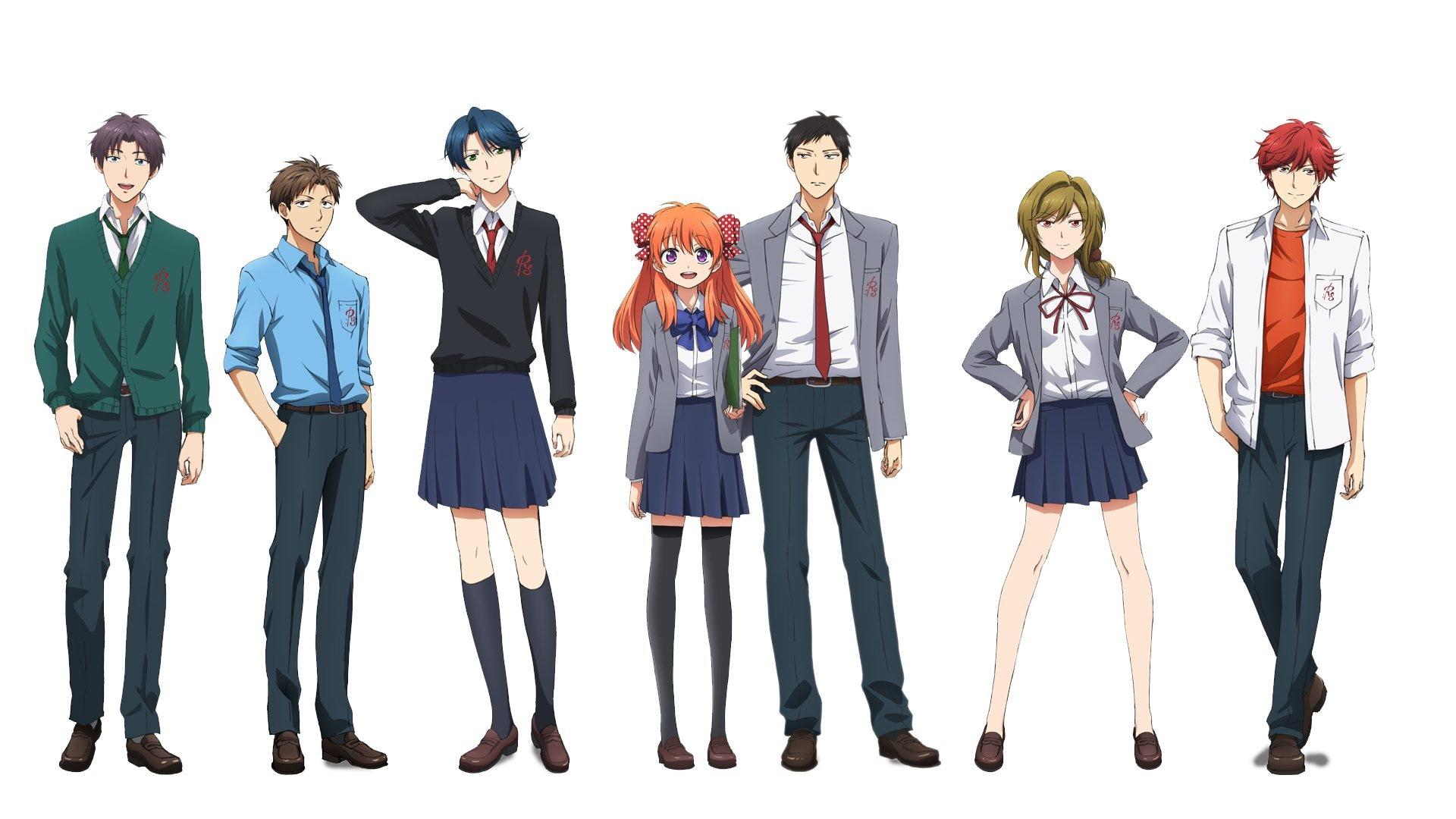 аниме ежемесячное седзе нозаки-куна смотреть онлайн