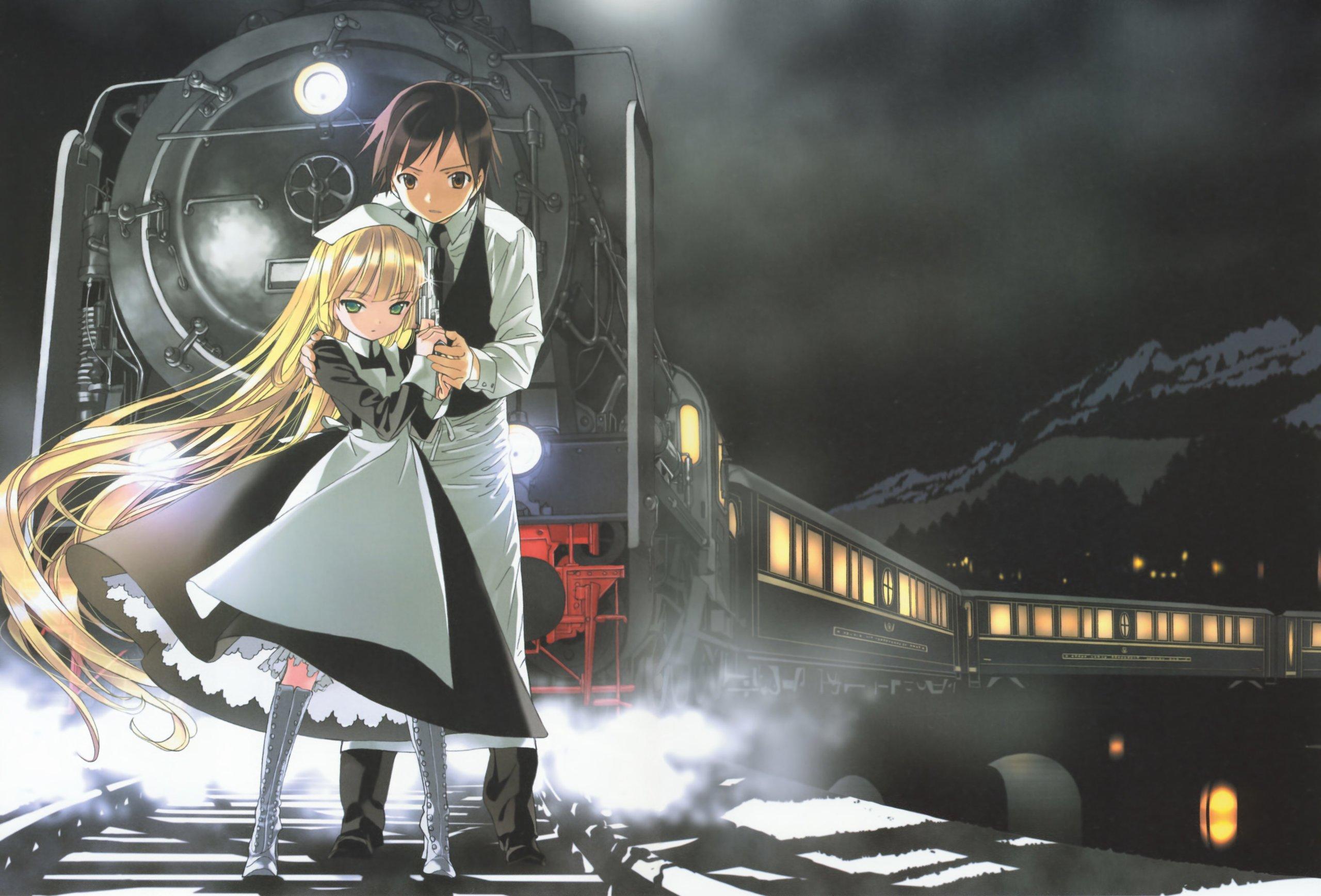 Смотреть онлайн аниме в поезде 17 фотография