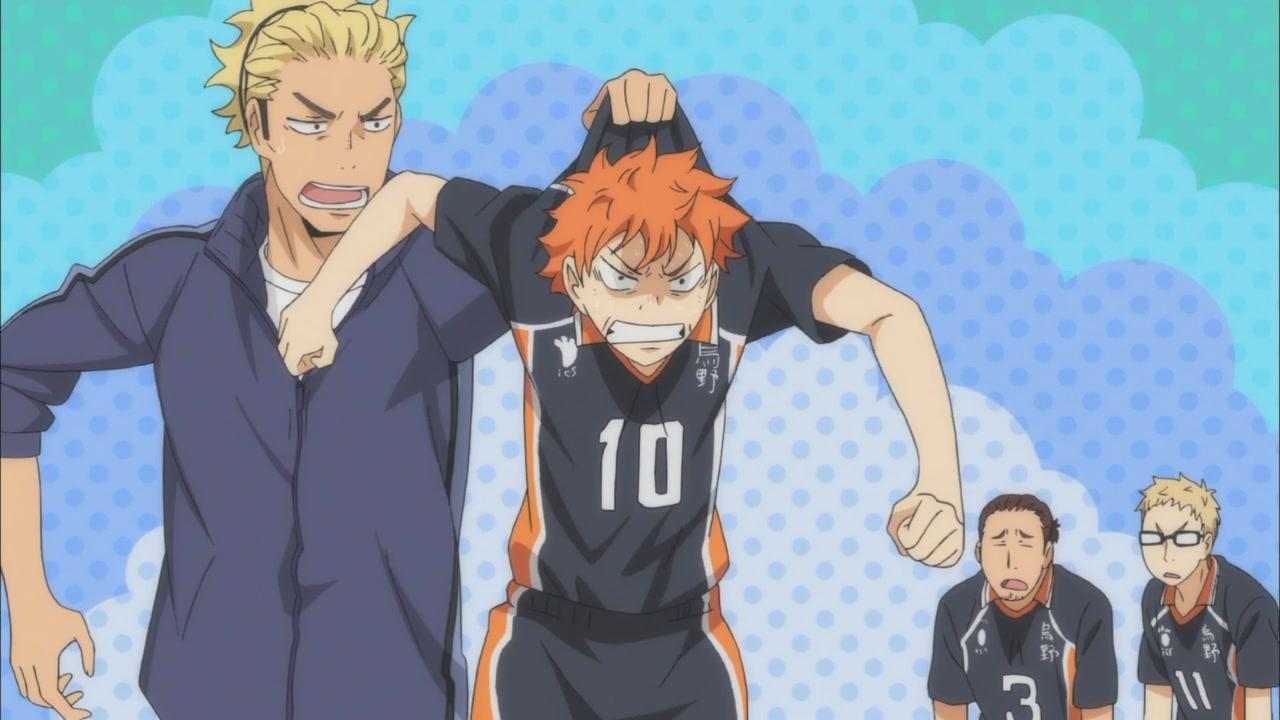 Прикольные картинки волейбол аниме