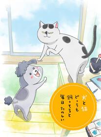 Весёлая жизнь с котом и собакой