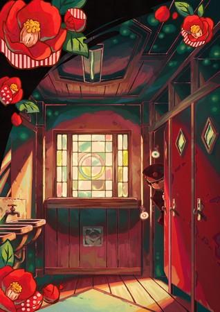Промо-арт аниме «Туалетный мальчик Ханако-кун»