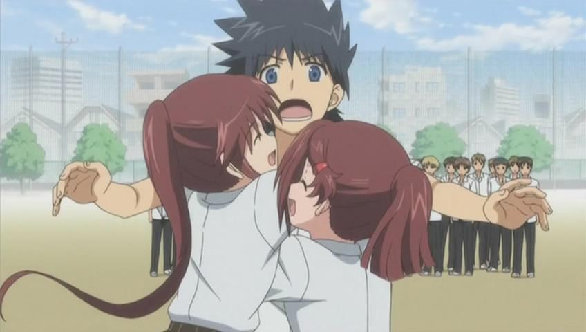 Скачать песню из аниме поцелуй сестер