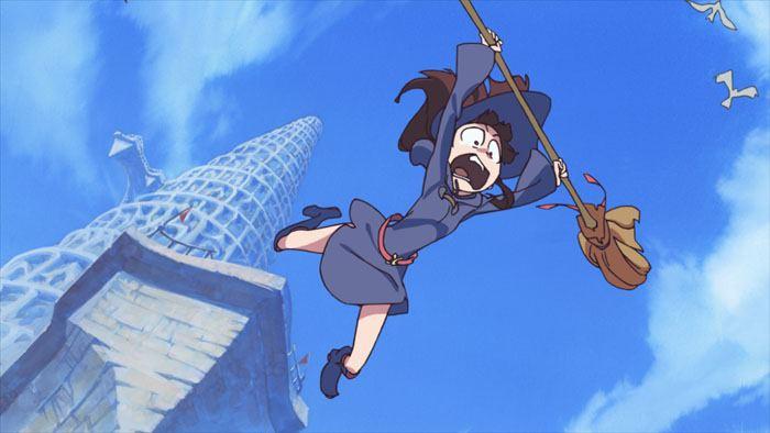 Академия ведьмочек OVA, кадр № 2