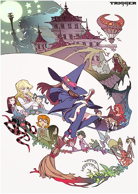 Академия ведьмочек OVA, постер № 1