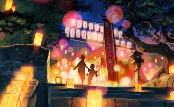 аниме летние каникулы 1 серия