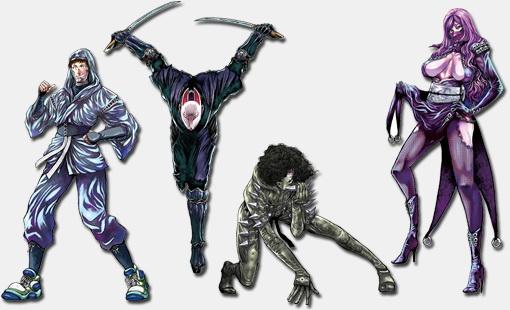 картинки аниме ниндзя