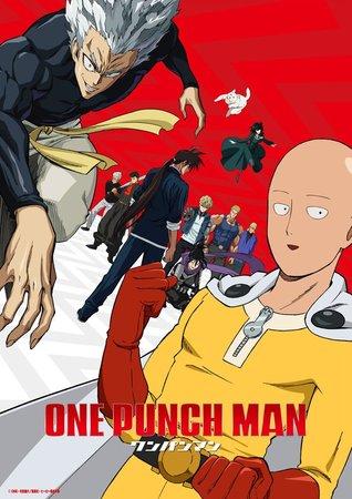 Постеры аниме «Ванпанчмен 2»