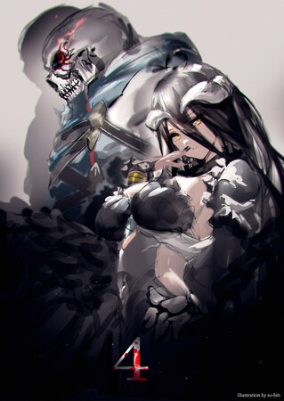 Промо-арт аниме «Повелитель 4»