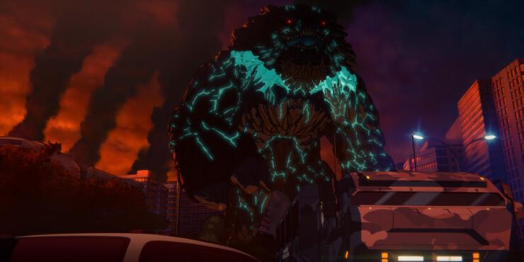 Кадры из аниме Pacific Rim: The Black