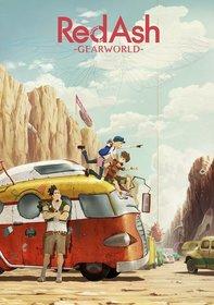 Постеры аниме «Красный пепел: Мир-механизм»