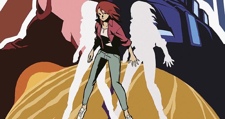 Постеры аниме «Отражение: Первая волна»