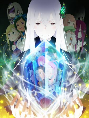 Промо-арт аниме «Re:Zero — жизнь с нуля в другом мире 2»