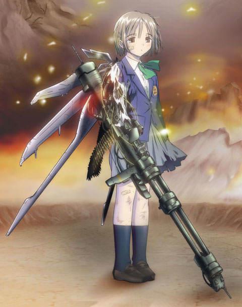 аниме моя девушка совершенное оружие: