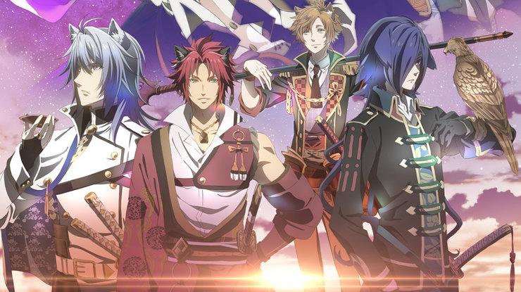 Постеры аниме «Кровавая ночь Сенгоку»