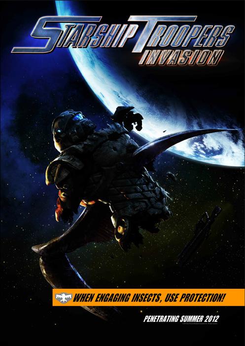 Звёздный десант: Вторжение, постер № 2