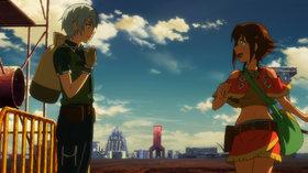 Гаргантия на зелёной планете OVA