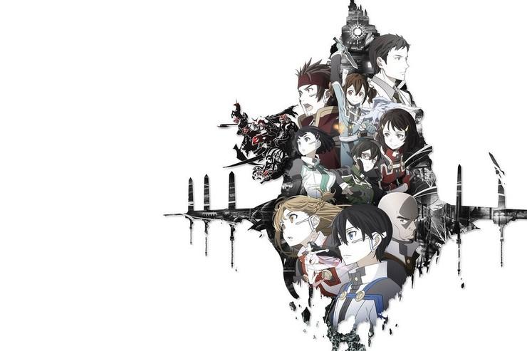 Промо-арт аниме «Искусство меча Online: Порядковая шкала»