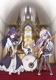 Промо-арт аниме «А вот и три ангела!»