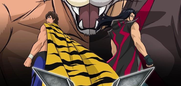 Промо-арт аниме «Маска тигра W»