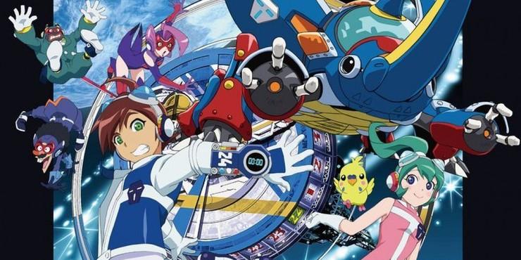 Постеры аниме «Временной Бокан 24»
