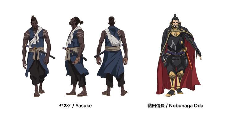 Промо-арт аниме «Ясукэ»