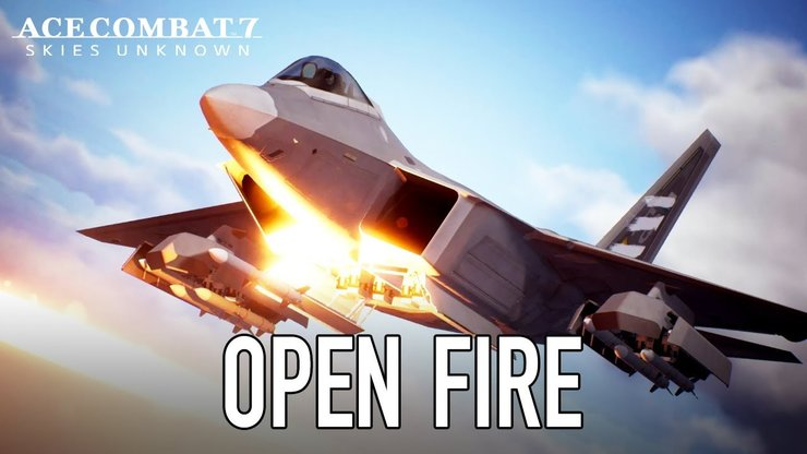 Ace Combat 7: Skies Unknown — премьерный трейлер