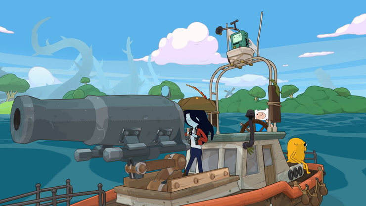 Кадры из игры Adventure Time: Pirates of the Enchiridion