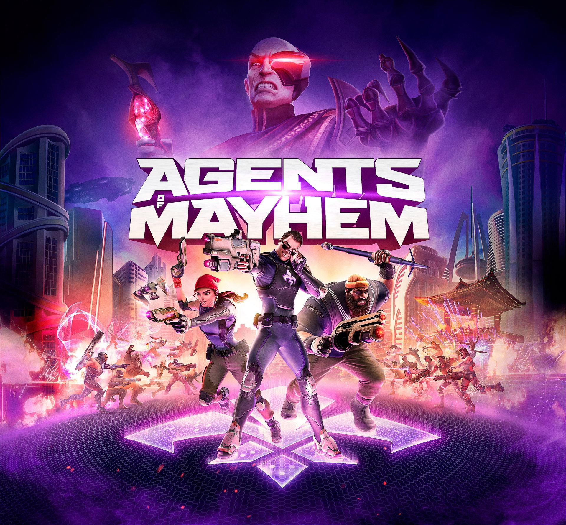 Agents of Mayhem, постер № 2
