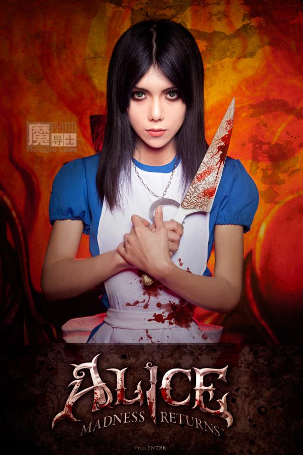 Alice: Madness Returns, косплей № 1