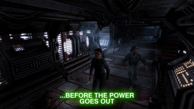 Кадры из игры Alien: Blackout
