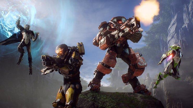 Anthem — трейлер с деталями игры и геймплейные демонстрации