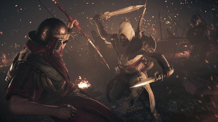 Кадры из игры «Assassin's Creed: Истоки»