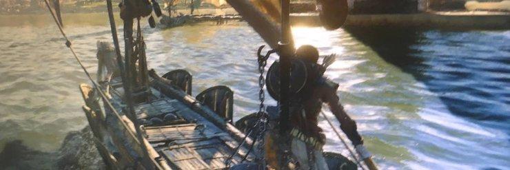 Промо-арт игры Assassin's Creed: Origins
