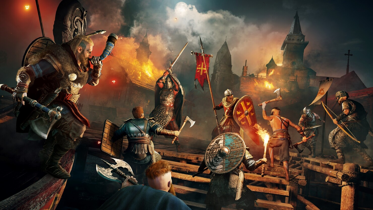 Кадры из игры «Assassin's Creed Вальгалла»