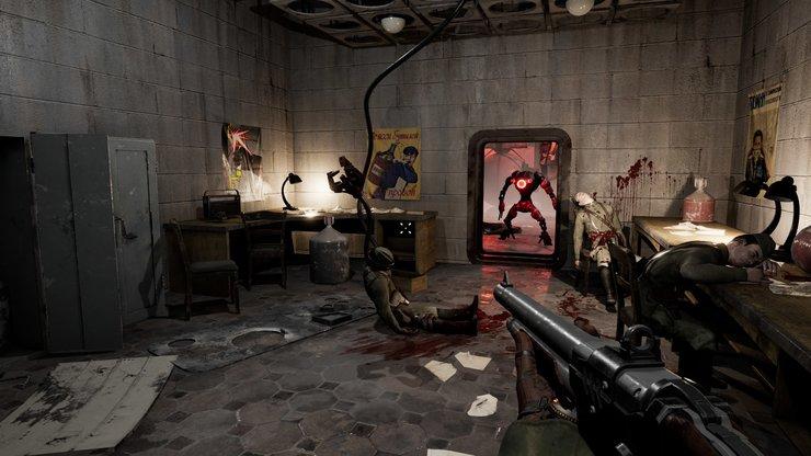 Кадры из игры Atomic Heart