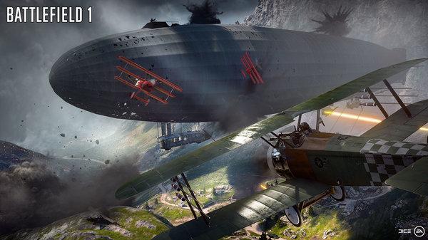 Кадры из игры Battlefield 1