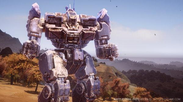 Кадры из игры BattleTech