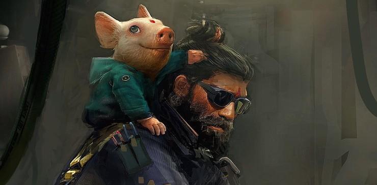 Промо-арт игры Beyond Good and Evil 2