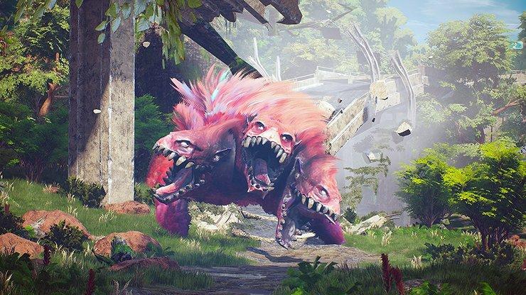 Кадры из игры Biomutant