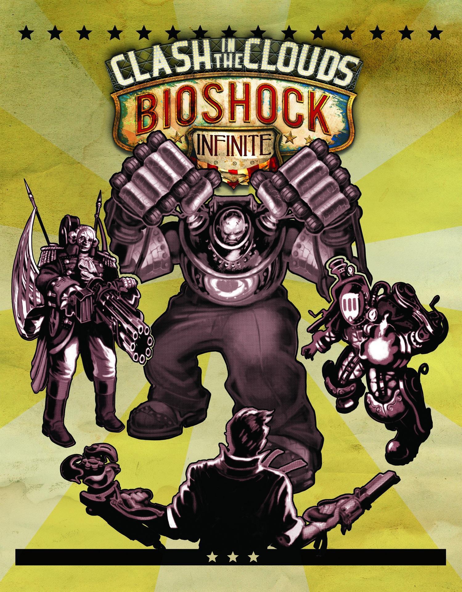 Bioshock Infinite Clash in the Clouds арт.