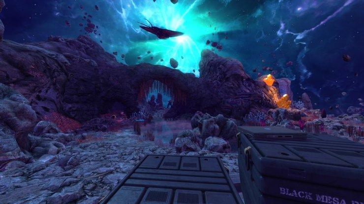 Кадры из игры Black Mesa