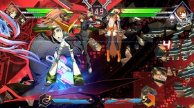 Кадры из игры BlazBlue Cross Tag Battle